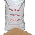 sac absorbant poudre végétal ignifugé