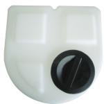 cuve de dosage avec couvercle à visser d'un volume de 500 L