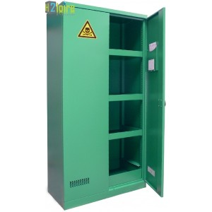 photo d'une armoire de rangement phytosanitaire